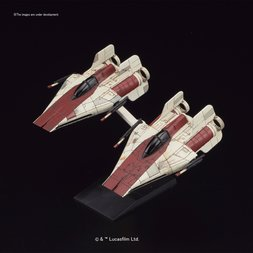 Star Wars 1/144 A-Wing Starfighter