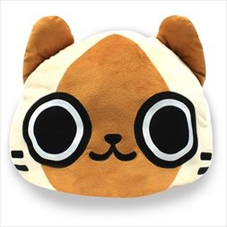 Monster Hunter Felyne Reversible Cushion