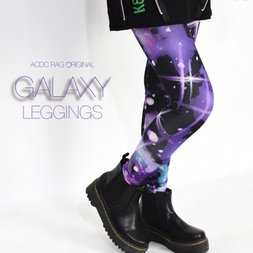 ACDC RAG Galaxy Leggings