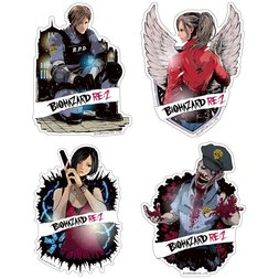 Capcom x B-Side Label Resident Evil 2 Sticker Collection