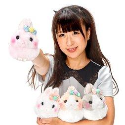 Usa Dama-chan Pompom Ribbon Rabbit Plush Collection (Standard)