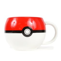 Pokemon Poke Ball Ceramic Mug
