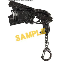 Psycho-Pass: Sinners of the System Dominator Metal Charm