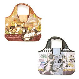 Wachifield Dayan the Cat Art Eco Bag