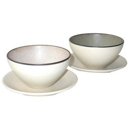 Mino Ware Frost Bowl Set
