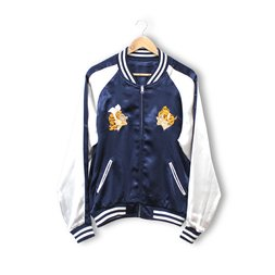 PIIT Vocaloid Kagamine Rin/Len Navy Sukajan Jacket