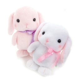 Pote Usa Loppy Trotting Talking Rabbit Plush Collection