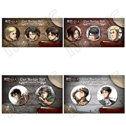 Attack on Titan Can Badge Sets