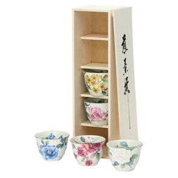 Barazono Mino Ware Teacup Set