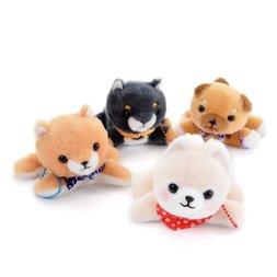 Mameshiba San Kyodai Kuttari Biyori Dog Plush Collection (Ball Chain)