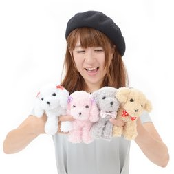 Toy Poodle Mocha-chan Dog Plush Collection (Standard)