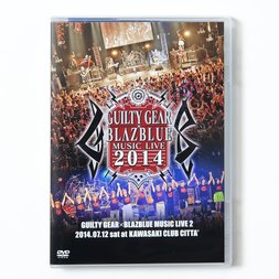 Guilty Gear x BlazBlue Music Live 2014 DVD