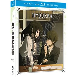 Hyouka: The Complete Series - Part 2 Blu-ray/DVD Combo Pack
