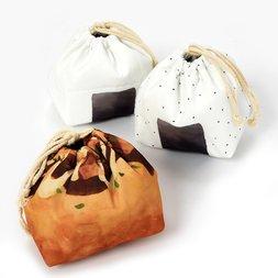 Okazu Kinchaku Drawstring Lunch Bags