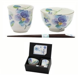 Hana Kotoba Mino Ware Gift Set
