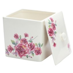 Rose Bread Container