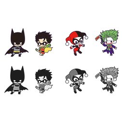 DC Comics Batman Debut Rubber Strap Charms