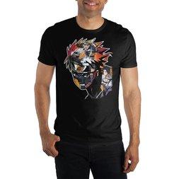 Naruto Collage Image T-Shirt