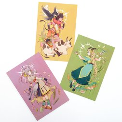 Mononoke Girl Postcards