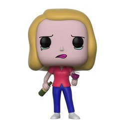 Pop! Animation: Rick & Morty Season 3: Beth w/ Wine Glass