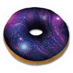 Fans Galaxy Donut Cushion