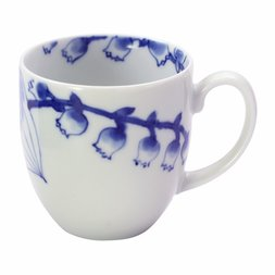 Mino Ware Lily of the Valley Mug