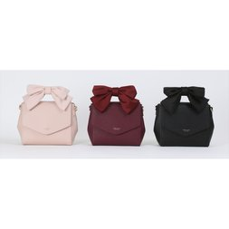 Honey Salon Ribbon Handle Bag