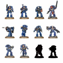Warhammer 40000: Space Marine Heroes Series #1 Box Set (Re-run)