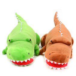 Mocchiri Biting Dinosaur Big T-Rex Cushion