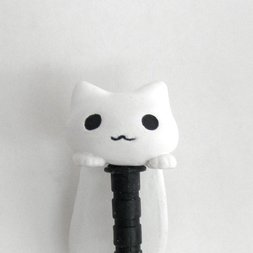 Dangling Kitten Earphone Jack Accessory