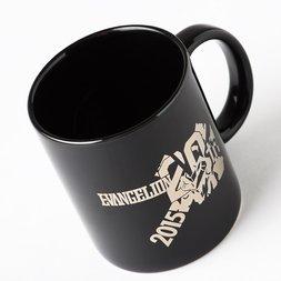EVA STORE Original 20th Evangelion 20th Anniversary Commemorative Logo Mug
