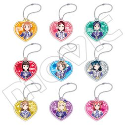 Love Live! Sunshine!! The School Idol Movie: Over the Rainbow Stage Outfits Acrylic Keychain Collection