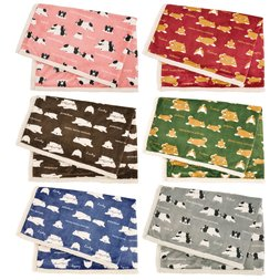 Nemu Nemu Animals Printed Half-Blanket Series