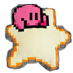 Kirby 8-Bit Star Cushion