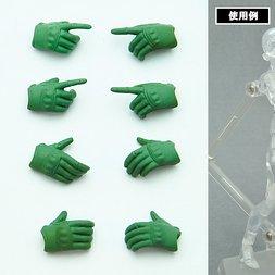 LittleArmory-OP2: figma Tactical Gloves (Foiliage Green)