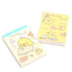 Rilakkuma Kiiroitori Diary Mini Memo Pad
