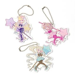 Sweet Lollipop Girls Acrylic Keychains Vol. 1