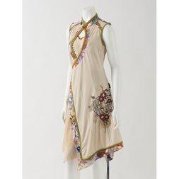 Ozz Oneste Camellia Printed Dress