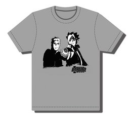 Boruto Father and Son Rasengan Men's Screen Print T-Shirt