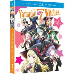 Yamada-kun and the Seven Witches: The Complete Series Blu-ray/DVD Combo Pack
