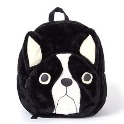 FLAPPER Buburin Face Pocket Fur Backpack