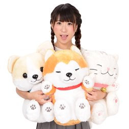Dokodemo Nekkorogari Tai Animal Plush Collection (Big)