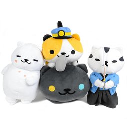 Neko Atsume Big Plush Collection
