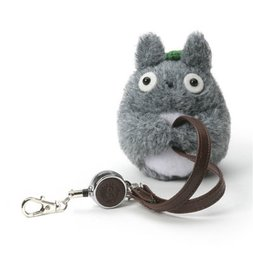 My Neighbor Totoro Totoro Reel Keychain