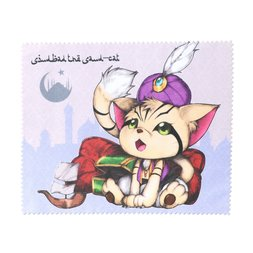 Sindbad the Sand-cat Eyeglass Cloth