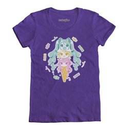 Miku-Rin-Luka Ice Cream T-Shirt