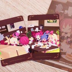 Disgaea Illustrated Phone Card Set