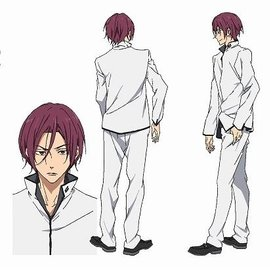 Matsuoka Rin © Oji Koji, Kyoto Animation Co., Ltd. / Iwatobi High School Swim Club