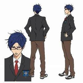 Ryugasaki Rei © Oji Koji, Kyoto Animation Co., Ltd. / Iwatobi High School Swim Club