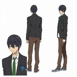 Nanase Haruka © Oji Koji, Kyoto Animation Co., Ltd. / Iwatobi High School Swim Club